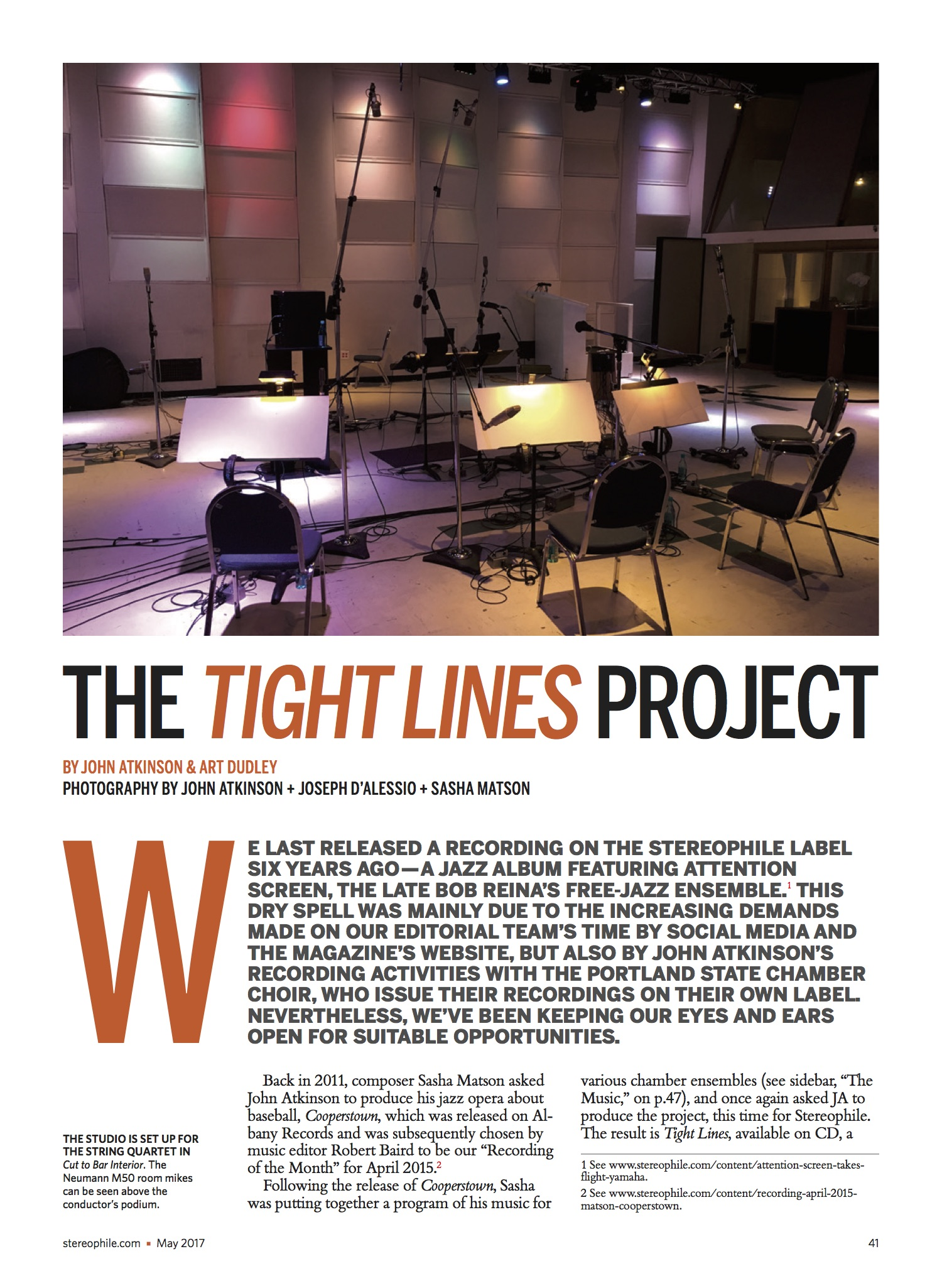 May Stereophile